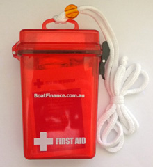 BoatFinance.com.au first aid kit